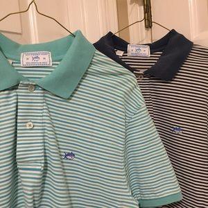 Southern Tide Shirts - BUNDLE!! 2 Southern Tide Skipjack Polos